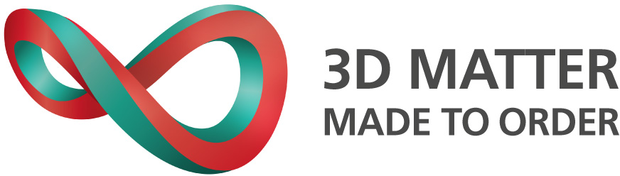 Logo of 3D Matter Made to Order Cluster.