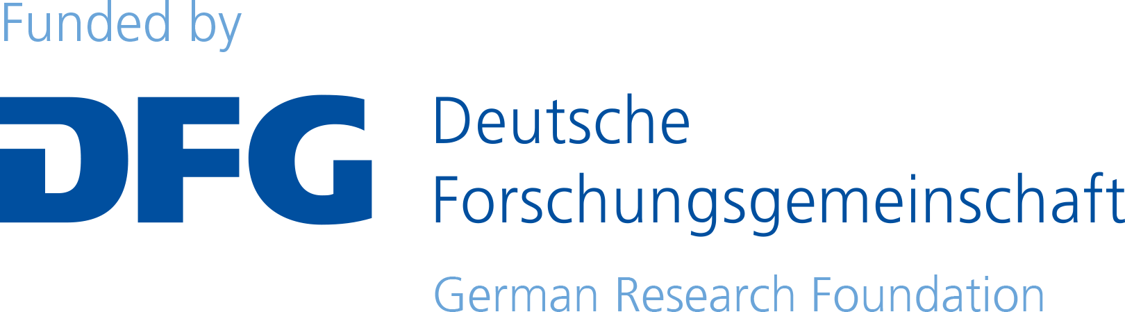 Logo of the German Research Foundation (Deutsche Forschungsgesellschaft).